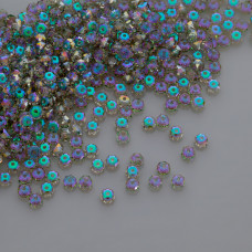 Swarovski rondelle bead paradise shine 4mm