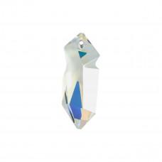 Swarovski kaputt pendant crystal AB 28mm