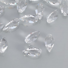 Swarovski twisted drop crystal 20mm