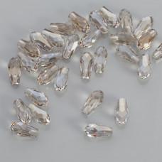 Swarovski pure drop silver shade 12mm