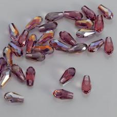Swarovski pure drop lilac shadow 12mm