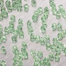 5328 bicone bead chrysolite 4mm