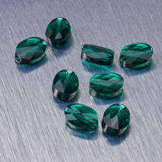 5051 Swarovski mini oval bead 8x6mm Emerald