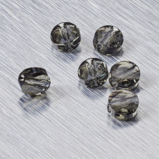 5052 Swarovski mini round bead 6mm Black Diamond