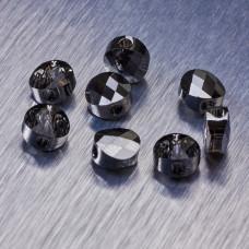 5052 Swarovski mini round bead 6mm Silver Night