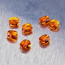 5052 Swarovski mini round bead 8mm Tngerine