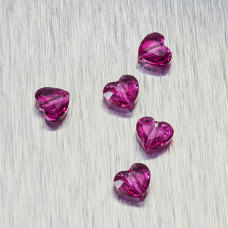 5741 Swarovski love bead 8mm Fuchsia