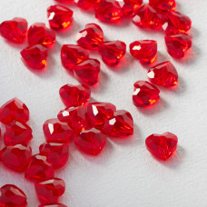 5741 Love bead Swarovski  light siam 8mm