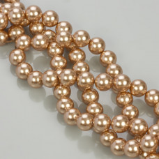 5810 round pearl rose gold (769) 8mm