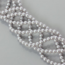 5810 pearl swarovski iridescent dive grey 4mm
