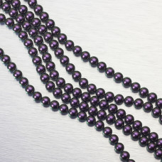 5810 Perły Swarovski 6mm Iridescent Purple