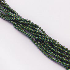 5810 Perły Swarovski scarabaeus green 4mm