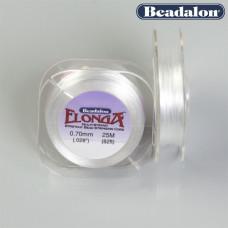 Beadalon gumka elastyczna wielowłóknista Elonga 0,7mm