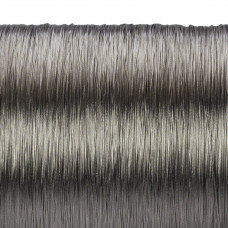 Beadalon linka powlekana 31m 0.38mm grey color