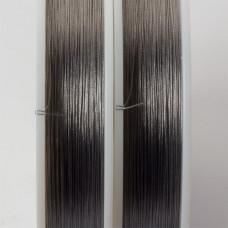Linka stalowa Beadalon siedmiostrunowa 91m 0.3mm szara