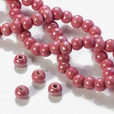 Ceramiczne kulki różowe 12mm
