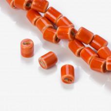 Przekładka ceramiczna walec pomarańczowy 11mm