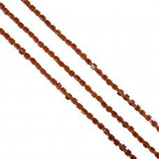 Kostki crackle czerwona magma 4mm