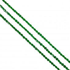 Kostki crackle zielone 4mm