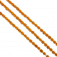 Kostki crackle pomarańczowe 6mm