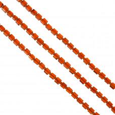 Kostki crackle czerwone 6mm