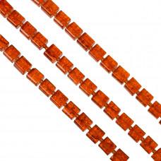 Kostki crackle pomarańczowe 10mm
