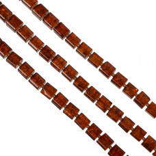 Kostki crackle czerwona magma 10mm