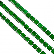 Kostki crackle zielone 10mm