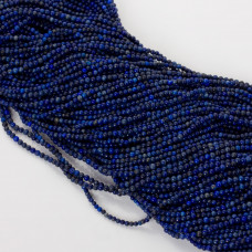 Lapis lazuli kulka gładka 2mm