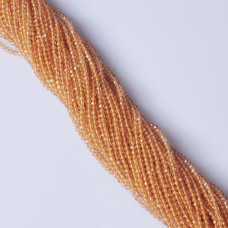 Cytryn syntetyczny kulka fasetowana  2.3mm