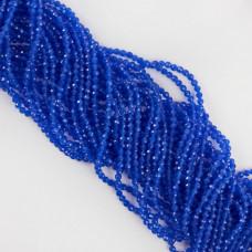 Kocie oko kulka fasetowana niebieska 2,9-3,1mm
