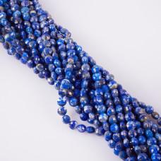 Lapis lazuli dysk fasetowany 6mm