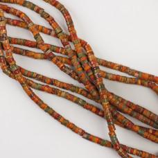 Jaspis cesarski krążek brązowy 4x2mm
