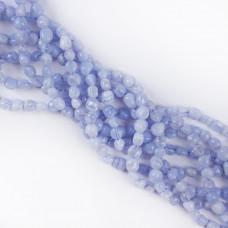 Agat blue lace bryłka nieregularna 6x8mm