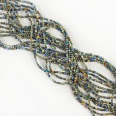 Lapis lazuli kulka fasetowana 2mm
