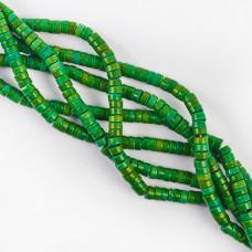 Howlit zielony krążek 6mm