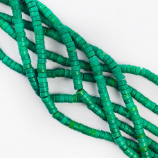 Howlit zielony krążek 6,5mm