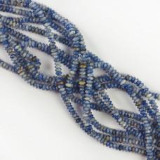 Jaspis niebieski dysk gładki 4,5mm