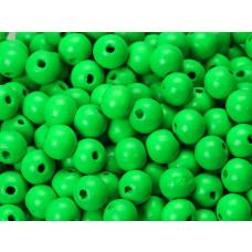 Kulki drewniane neon green 12mm