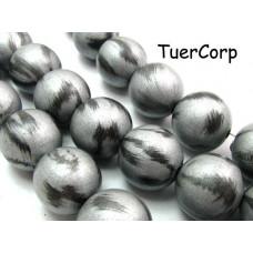 Drewniane kulki srebrna jesień 25mm