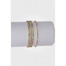 Bransoletka z kryształkami shinny moon 16-20cm