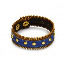 Bransoletka electric blue z zamkiem 18-21cm