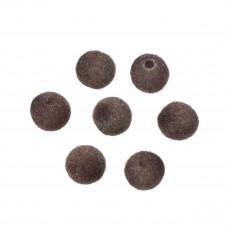 Kulki welurowe 10mm brązowe