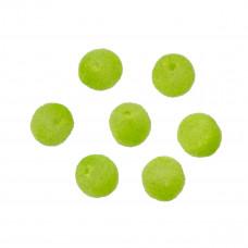 Kulki welurowe 10mm zielone