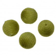 Kulki welurowe 20mm ciemnozielone