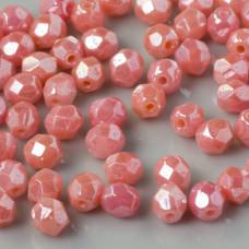 Fire Polish  Luster - Carnation Pink (L73030) 4mm