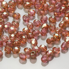 Fire Polish Luster - Pink (LK00030) 3mm