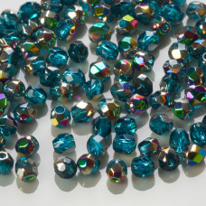 Fire Polish Vitral - Teal (V60150) 3mm