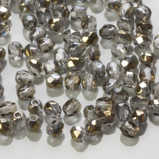 Fire Polish Bronze Iris Crystal (ZR00030) 3mm