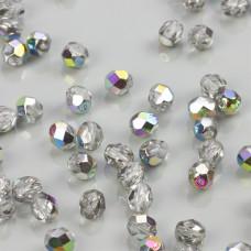Fire Polish Crystal - Vitral (V00030) 6mm